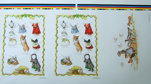 MISS MEGGIE Proof Sheet. Tasha Tudor.