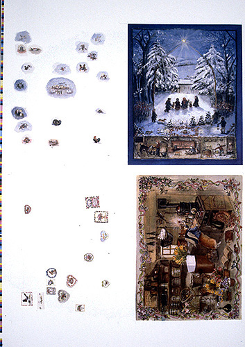 ADVENT CALENDARS PROOF SHEET. Tasha Tudor.