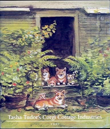 TASHA TUDOR'S CORGI COTTAGE INDUSTRIES 1997
