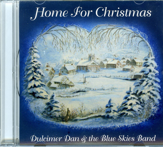 HOME FOR CHRISTMAS [COVER ART BY TASHA TUDOR]. Dulcimer Dan, The Blue Skies Band.