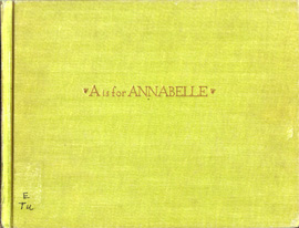 A IS FOR ANNABELLE. Tasha Tudor.