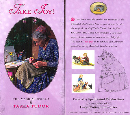 TAKE JOY! THE MAGICAL WORLD OF TASHA TUDOR --PAL. Sarah Kerruish.