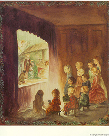 JWP PM 36 HOLY NIGHT. Tasha Tudor.