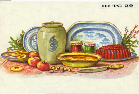 "ID TC 29 POSTAL CARD ""Holiday Fare"""