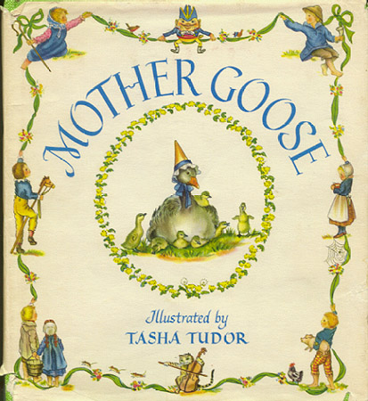 MOTHER GOOSE; : Seventy-seven verses with pictures by...
