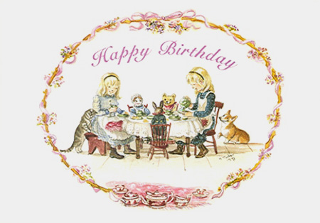 JWP CO 50 HAPPY BIRTHDAY TEA PARTY (Blank)