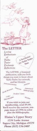 The LETTER BOOKMARK [advertisement]. Elaine Hollabaugh.