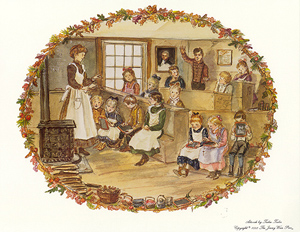 JWP PO 43S SCHOOL DAYS. Tasha Tudor.
