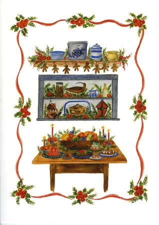 """Mary T. Graves MG710 """"Holiday Table"""""""