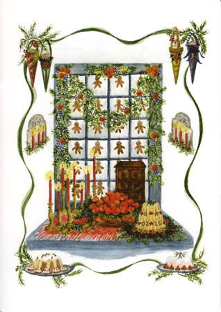 """Mary T. Graves MG715 """"Gingerbread window"""""""