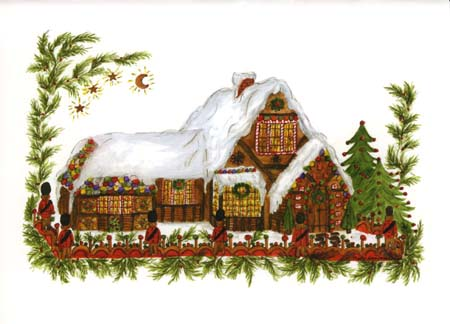"""Mary T. Graves MG738 """"Gingerbread cottage"""""""