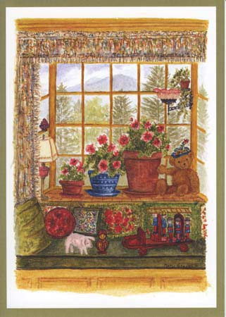 """Mary T. Graves MG746 """"Mary's Library Window"""""""