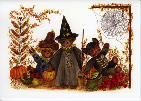 """Mary T. Graves MG749 """"Halloween Trio"""""""