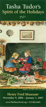TASHA TUDOR'S SPIRIT OF THE HOLIDAYS, HENRY FORD MUSEUM