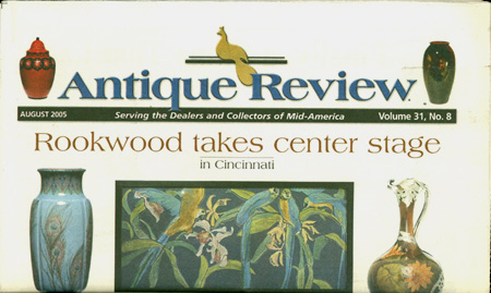 The ANTIQUES REVIEW 31:8 August 2005; : SERVING THE DEALERS AND COLLECTORS OF MID-AMERICA. Cheryl Christian.