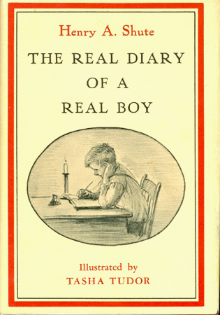 The REAL DIARY OF A REAL BOY. Henry A. Shute.