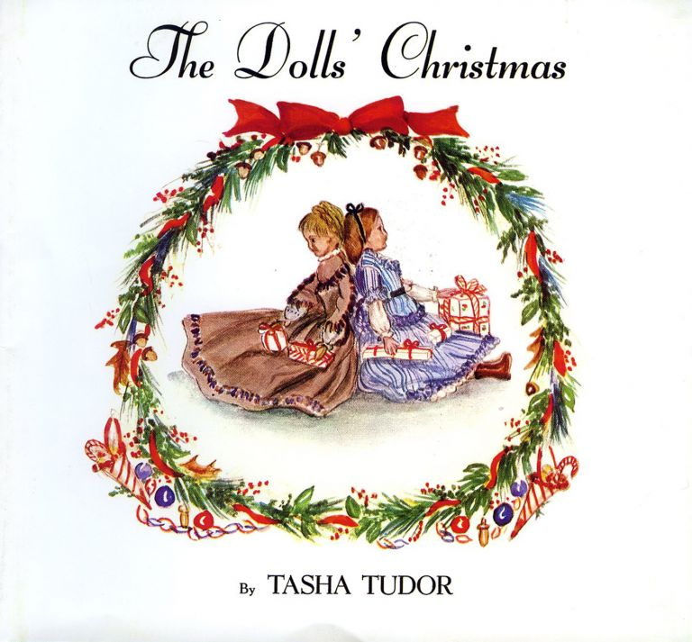 The DOLLS' CHRISTMAS [DUST JACKET ONLY]. Tasha Tudor.