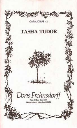 TASHA TUDOR CATALOGUE 42. Doris Frohnsdorff.