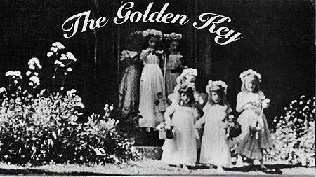 The GOLDEN KEY; [DVD]. Nell Dorr.