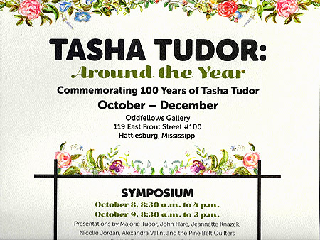 TASHA TUDOR: AROUND THE YEAR Commemorating 100 Years of Tasha Tudor. Fenimore Art Museum.