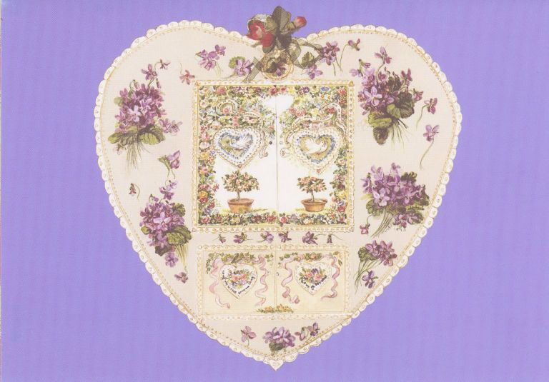 JWP CO 57 LAVENDER HEART