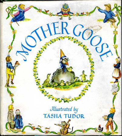 MOTHER GOOSE ; : Seventy-seven verses with pictures by...