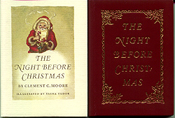 NIGHT BEFORE CHRISTMAS, THE. Clement C. Moore.