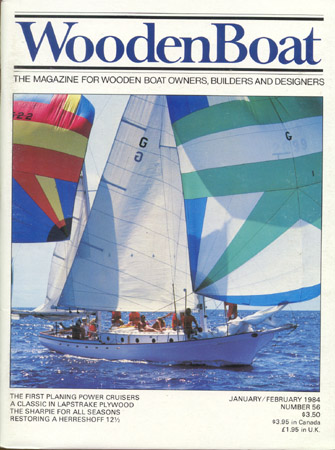 WOODEN BOAT. No. 56, Jan/Feb 1984
