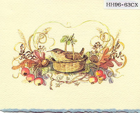 ID HH 96-63CX Package of 10 cards and envelopes