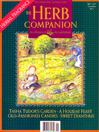 The HERB COMPANION 7:2 12/94 - 1/95