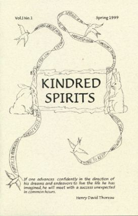 KINDRED SPIRITS v. 1 no. 1 Spring 1999. Peggy Walls