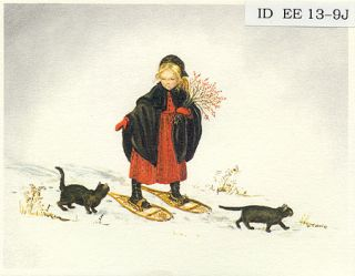 ID EE 13-9J Laura in the Snow