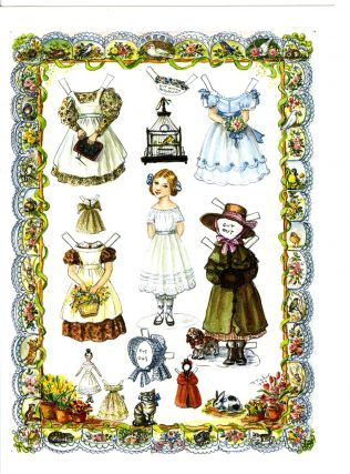 JWP CO 32 LITTLE AMELIA CARD (Blank)