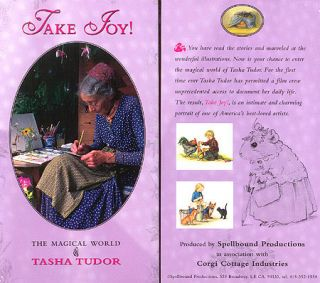 TAKE JOY! THE MAGICAL WORLD OF TASHA TUDOR --PAL. Sarah Kerruish