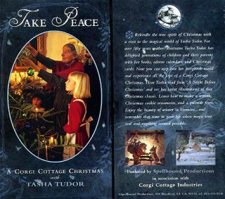 TAKE PEACE! A CORGI COTTAGE CHRISTMAS--PAL. Sarah Kerruish