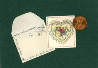 JWP CO 02 VALENTINE SET; (set of 20 miniature cards with tiny envelopes)