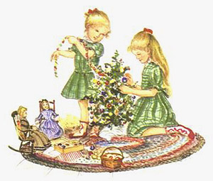 The DOLLS' CHRISTMAS. Tasha Tudor