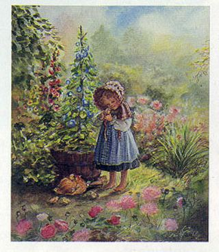 JWP PO 14 LITTLE ROSE. Tasha Tudor