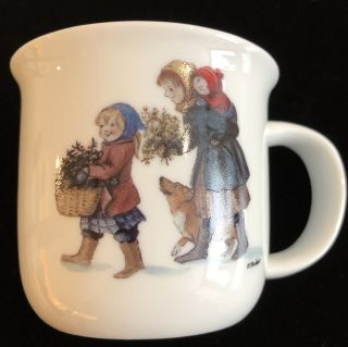 CHILD'S HOLIDAY PARADE MUG - GIRL