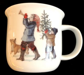 CHILD'S HOLIDAY PARADE MUG - BOY
