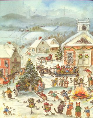 TASHA TUDOR'S ADVENT CALENDAR: A WREATH OF DAYS