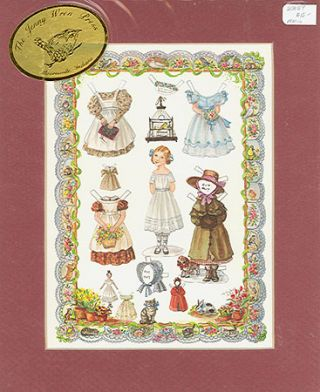 PTM 16 LITTLE AMELIA PAPER DOLLS