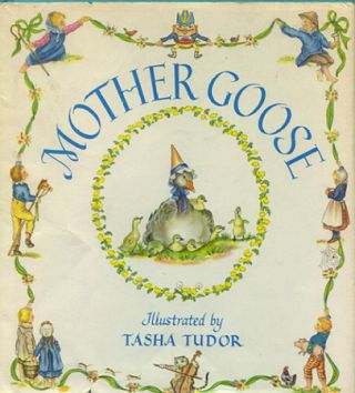 MOTHER GOOSE; : Seventy-seven verses with pictures by