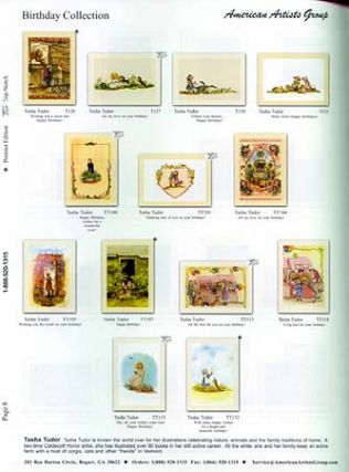 AMERICAN ARTISTS GROUP: THE ART OF GREETING CARDS; 2003 EVERYDAY CATALOG