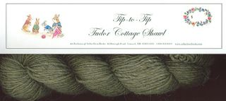 """TIP-TO-TIP"" A TUDOR COTTAGE SHAWL KIT; : an exclusive of Cellar Door Books!"