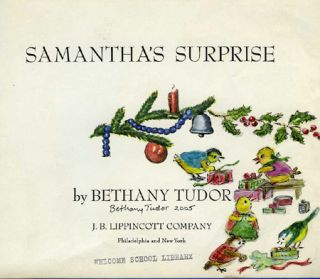 SAMANTHA'S SURPRISE; (with original art on title page)