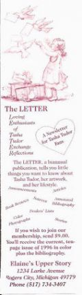 The LETTER BOOKMARK [advertisement]. Elaine Hollabaugh