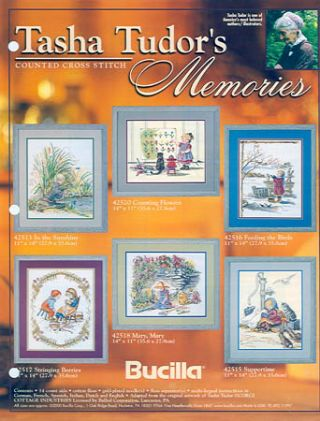 TASHA TUDOR'S MEMORIES: COUNTED CROSS STITCH