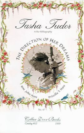 Catalog #12 from Cellar Door Books announcing TASHA TUDOR, A BIO-BIBLIOGRAPHY, THE DIRECTION OF...