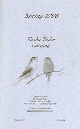 SPRING 1998 TASHA TUDOR CATALOG, Catalog #11 from Cellar Door Books. Cellar Door Books